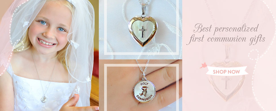 Shop First Communion gifts.