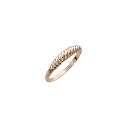 Beautiful Girls 10K Yellow Gold Child Ring - Size 4