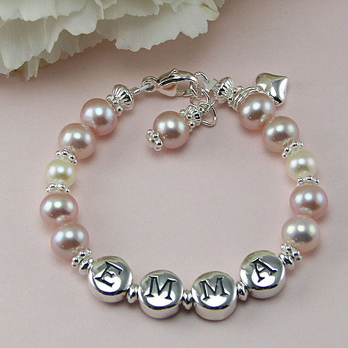 Beadifulbaby Emma By My First Pearls 174 Baby Bracelet