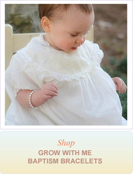 Shop Grow With Me Baptism Bracelets
