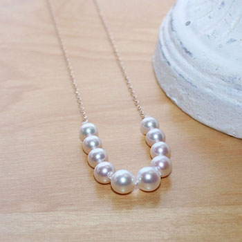 Akoya Pearl Starter Necklaces by Create-A-Pearl