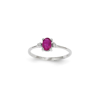 July Birthstone Rings