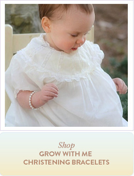Shop Grow With Me Christening Bracelets