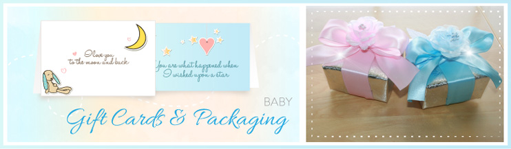 New Baby Gift Cards and Packaging