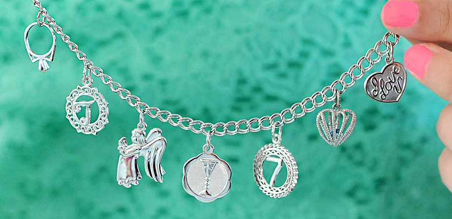 tell her story with charms