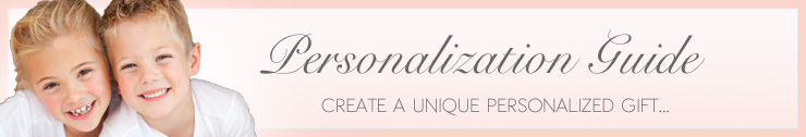 Presonalization Guide - Create a unique personalized gift...