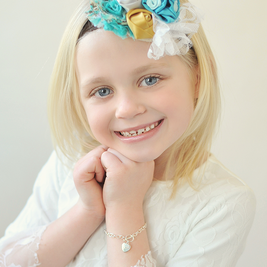 Shop kids personalized bracelets.