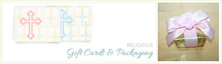 Religious Gift Cards and Packaging