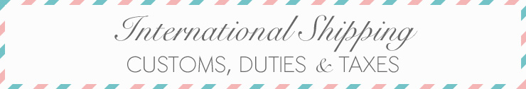 International Shipping Customs, Duties, and Rates