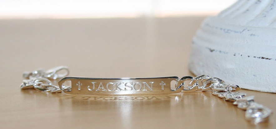 Personalized boys bracelets