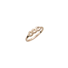 Beautiful 10K Yellow Gold Girls Ring - Size 2 1/2 (2 - 6 years)