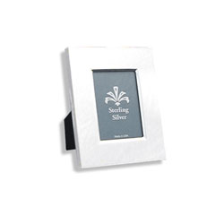 For My Most Cherished Moments™ - Rectangular Beveled Sterling Silver Engravable Photo Frame - 4