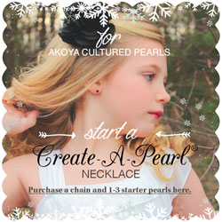 Akoya Starter Necklace - Create-A-Pearl/