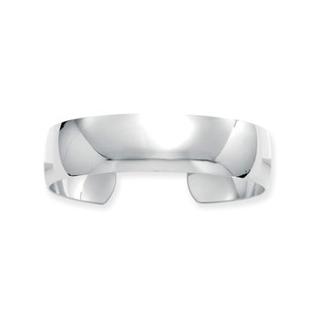 Best Selling Engravable Cuff for Girls - Premium Weight High Polished Sterling Silver Rhodium Engravable Cuff Bracelet for Teens / Adults - Engravable on front - BEST SELLER