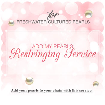 Add My Pearls Restringing Service - Freshwater Create-A-Pearl