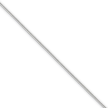 "18"" Sterling Silver Snake Chain - 1.00mm width - 16 years to Adult"