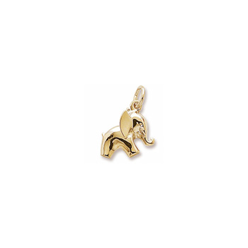 Rembrandt 10K Yellow Gold Elephant Charm – Add to a bracelet or necklace