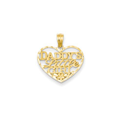 Daddy's Little Girl Necklace - 14K Yellow Gold/