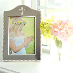 Moments Captured™ - Tarnish-Resistant Sterling Silver-Plated Engravable Rectangular Picture Frame - 5
