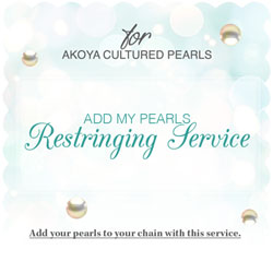 Add My Pearls Restringing Service - Akoya Create-A-Pearl/
