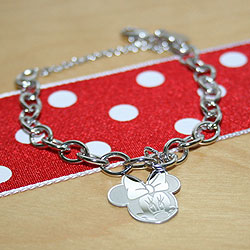Minnie Mouse Charm Bracelet/