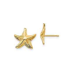 Children's Starfish Earrings/