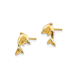 Children's Dolphin Earrings/