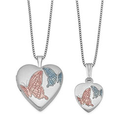 Butterfly Locket Set/