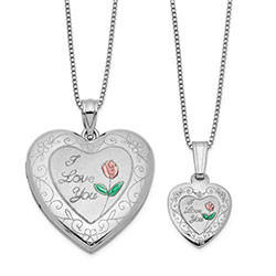 I Love You Locket Set/