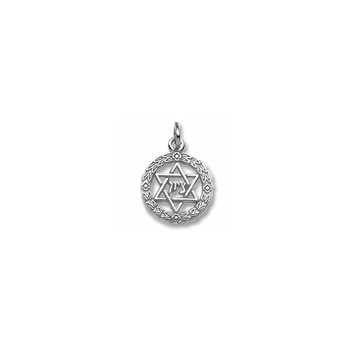 Rembrandt Sterling Silver Star of David Charm – Add to a bracelet or necklace - BEST SELLER
