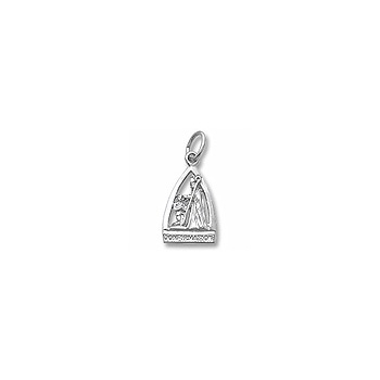 Rembrandt Sterling Silver Confirmation Charm – Add to a bracelet or necklace