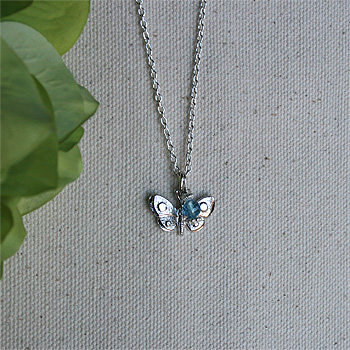 Rembrandt Sterling Silver Butterfly Charm – Add to a bracelet or necklace