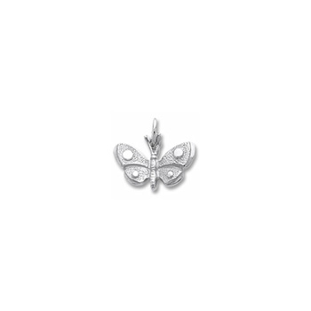 Rembrandt Sterling Silver Butterfly Charm – Add to a bracelet or necklace - BEST SELLER
