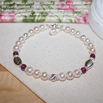 Mothers Bracelet - Fine Freshwater Cultured Pearls