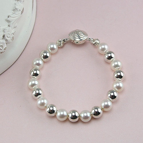 Amelie Collection - Baby / Children's Pearl Bracelet